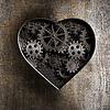 ID 4647936 | Metall-Herz mit rostigen Getriebe und Zahnräder | Illustration mit hoher Auflösung | CLIPARTO