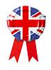 ID 4648146 | Britischen oder UK-Flagge Dichtung mit Band | Foto mit hoher Auflösung | CLIPARTO