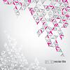 Abstrakcyjne tło geometryczne z piramid | Stock Vector Graphics