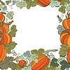 Pumpkin Background seamless pattern | Stock Vector Graphics