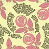 Piękny kwiatowy wzór bez szwu | Stock Vector Graphics