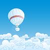 mit Luftballons