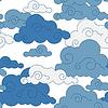 vintage Cloud chinesischen seamless pattern