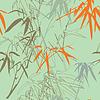 Bamboo seamless texture.