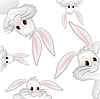 Funny Easter Bunny | Stock Vector Graphics