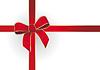 Rotes Geschenkband | Stock Vektrografik