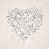 ID 3683417 | Herz aus Ornamenten | Stock Vektorgrafik | CLIPARTO