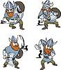 ID 3687149 | Nordic Vikings | Klipart wektorowy | KLIPARTO