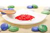 Natürliche Erdbeer-Peeling | Stock Foto