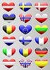 european flags Herzen