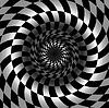 Streszczenie czarno-białe szachy tle | Stock Vector Graphics