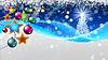 Bunte Weihnachtskarte | Stock Illustration