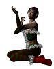 Elf Weihnachtsmann-Helfer | Stock Illustration