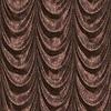 Brown Vorhang mit Muster | Stock Illustration