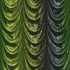 ID 4593968 | Zielona kurtyna z wzoru | Stockowa ilustracja wysokiej rozdzielczości | KLIPARTO
