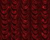 Red Vorhang mit Herz-Muster | Stock Illustration