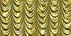 Желтый занавес с мультипликационными звезд | Иллюстрация