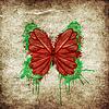 ID 4601319 | Retro Schmetterlingsdesign | Foto mit hoher Auflösung | CLIPARTO