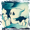 ID 4604369 | Cute ghost on cemetery | Stockowa ilustracja wysokiej rozdzielczości | KLIPARTO
