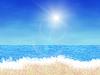 Мультяшный пляже | Иллюстрация