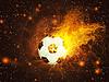 ID 4619748 | Ball für Fußball im Feuer | Illustration mit hoher Auflösung | CLIPARTO
