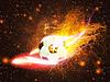 ID 4619749 | Ball für Fußball im Feuer | Illustration mit hoher Auflösung | CLIPARTO