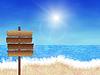 만화 해변 | Stock Illustration