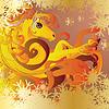 ID 4623430 | Pferd mit Flamme | Illustration mit hoher Auflösung | CLIPARTO