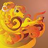 ID 4623431 | Pferd mit Flamme | Illustration mit hoher Auflösung | CLIPARTO