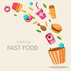 Fliegen Fast Food