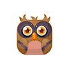 Owl Square Icon
