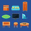 Wohnzimmer-Möbel Set