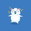 Tanzen Eisbär