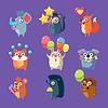 Tiere mit Party-Elemente festlegen