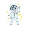 Boy Zukünftiger Astronaut