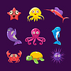 Baby-Sea Creatures, Set