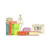Anatomie Klasse Reihe von Objekten