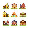 S-Immobilien Häuser Exteriors Set