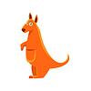 Känguru Toy Exotic Animal Zeichnung