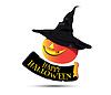 Happy Halloween Konzept Design