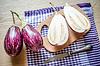 Graffiti Eggplants | Stock Foto