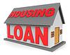 Housing Loan Repräsentiert Real Estate Hypothek 3d | Stock Illustration