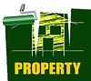 Immobilien Dekorieren Stellt Immobilien | Stock Illustration