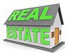 Immobilien Steht zum Verkauf 3D-Rendering | Stock Illustration