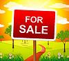 Gibt Zu verkaufen Immobilienmakler und Transparent | Stock Illustration