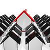 Haus Icons Angezeigt Verkauf von Immobilien | Stock Illustration