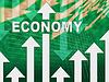 Economía gráfico indica Micro Economía y Gráficas | Ilustración