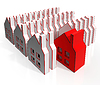 Haus Icons anzeigen Real Estate | Stock Illustration
