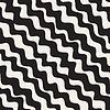 Nahtlose Schwarz-Weiß Diagonal Zickzacklinien