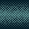 Vector clipart: Seamless Halftone Gradient Rounded Irregular Navy